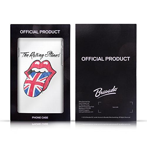 Officiel The Rolling Stones Langue Classique Art Clé Étui Coque De Livre En Cuir Pour Apple iPhone 6 / 6s