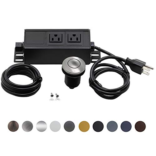 Garbage Disposal Air Switch Kit Dual Outlet Sink Top Waste D