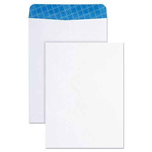 Quality Park 41415 Catalog Envelopes, Tint, 9-Inch x12-Inch, 100/BX, White Wove