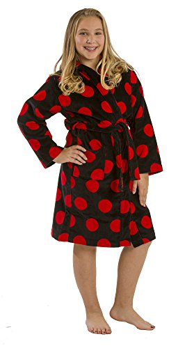 Polka Terry Cotton Hooded bathrobes product image