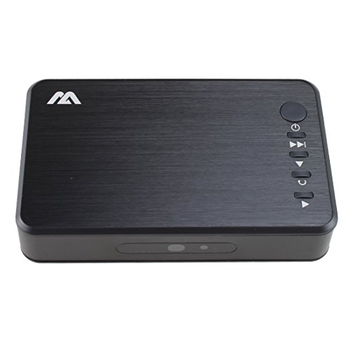 AGPTEK Mini 1080p AV VGA HDMI Media Player RMVB MKV SD SDHC USB JPEG with...