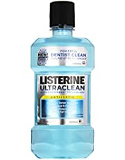 Listerine Ultra Clean Antiseptic Arctic Mint, 16.9 FZ (Pack of 6)