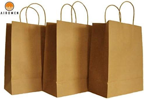 Amazon.com: Airomen - Bolsas de papel kraft (50 unidades, 10 ...
