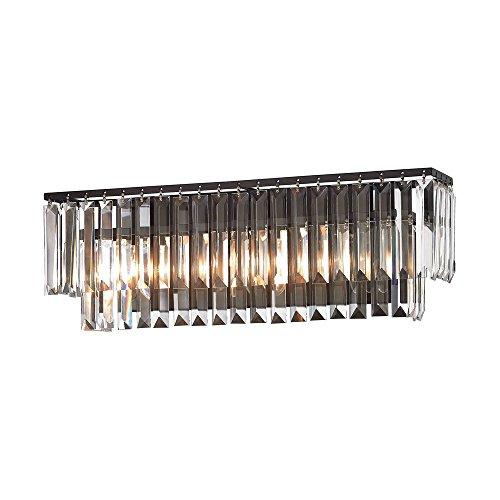 (Elk Lighting 15222/3 Vanity-Lighting-fixtures, 7 x 27 x 5, Bronze)