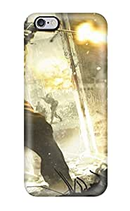Hot 3100090K29625129 Excellent Iphone 6 Plus Case Tpu Cover Back Skin Protector 2010 Cod Black Ops