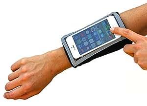 Brazalete Deportivo: 2 por 1 especial! Compre dos por el precio de uno. MyBand Elite Mac para el iPhone 5S, 5C, 5,4S, 4. iPod Touch o cualquier dispositivo portátil del mismo tamaño o más pequeño.