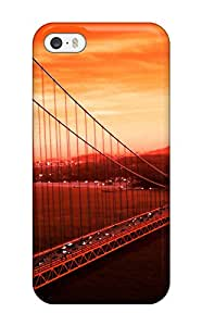 For Iphone Golden Gate Bridge Protective Case Cover Skin Iphone 5/5s Case Cover