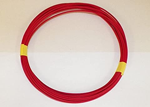 18 Ga Red Automotive/General Purpose GXL Wire .94 O.D. 25' Superior Abrasion Resistance, High Heat, Resist grease,Oil, - Purpose Marine Grease