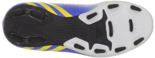 adidas Performance Predito LZ TRX FG J G65113 Jungen Fußballschuhe Weiß (RUNNING WHITE FTW / VIVID YELLOW S13 / PRIME BLUE S12)