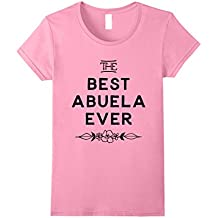Women's The Best Abuela Ever tshirt - Spanish Mother's Day gift