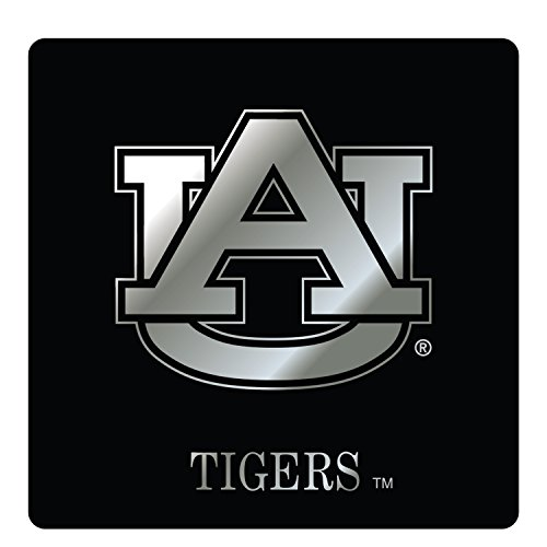 - Auburn Tigers Decal SQUARE AU BLK/SIL DECAL 4