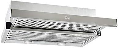 Teka extraible - Campana cnl 6400-s inoxidable clase de eficiencia energetica e