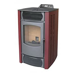 Eldstad estufa de pellets estufa chimenea calefacci n for Calefaccion de pellets