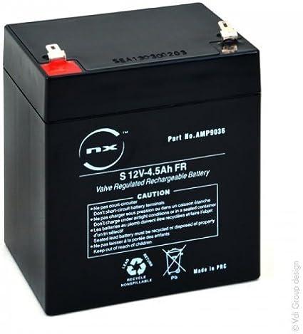 14845 Bater/ía 12N5.5-4A BS BATTERY
