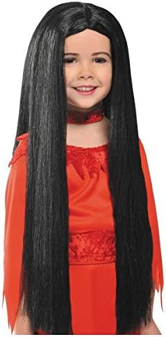1 Pc amscan 840381-55 Black Child Witch Wig Costume Accessory