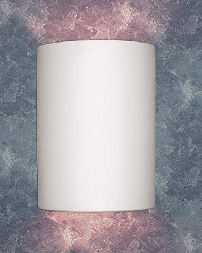 Luxury Lighting 102-00 - Ceramic Outdoor Wall Lighting - Paintable White Bisque Wall -