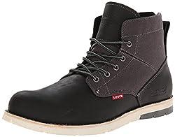 Levis Men's Jax Chukka Boot, Brown/Charcoal, 8 M US