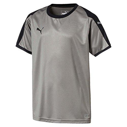 Puma black Steel Jersey Shirt Liga Gray fXwqAxrWXt