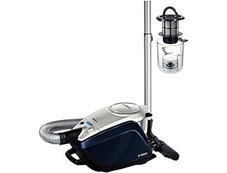 Bosch BGS5ALL1 Relaxxx ProSilence - Aspirador sin bolsa AAC silencioso, tecnología SensorBagless, 700 W, autolimpieza de filtro SelfClean, color azul ...