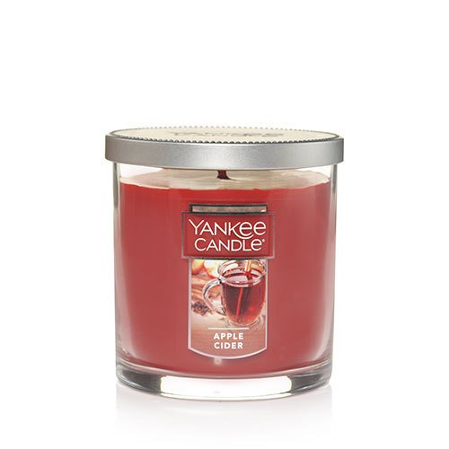 Yankee Candle Apple Cider Small Single Wick Tumbler Candle, Food & Spice Scent
