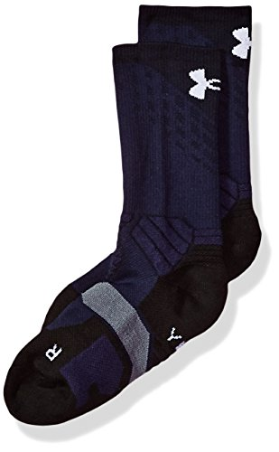 Under Armour Boy's Drive Basketball Crew Single Pair, Midnight Navy/White, Youth - Kids Drive Basketball