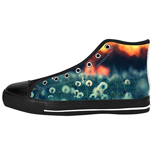 Tela Shoes Ginnastica Da Leone I Delle Lacci Men's In Sopra Custom Canvas Scarpe Di Le Dente Alto X4gxqcwUa