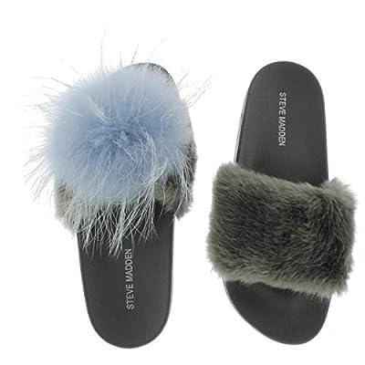 Steve Madden Women's Spiral Slide Sandal
