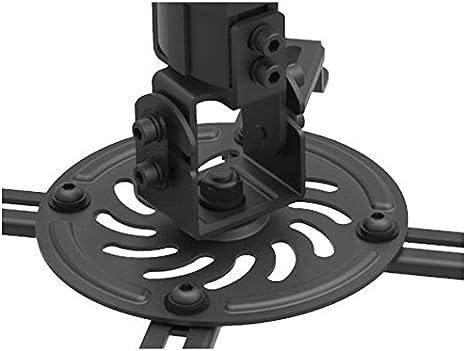 DRALL INSTRUMENTS Universal Beamer Projektor Deckenhalterung Dachschr/äge variabel neigbar drehbar schwarz oder Weiss Modell Farbe:Schwarz B26VA