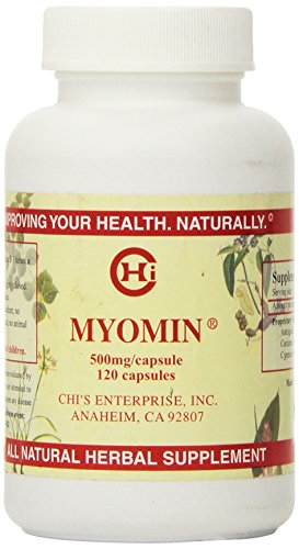 (Chi's Enterprise 120 Piece Myomin Promotes Healthy Hormone Levels 500mg Capsules)