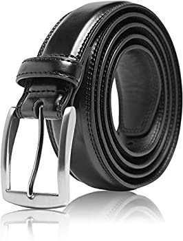 Access Denied Men's Genuine Leather Dress Belt