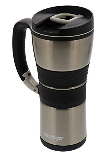 contigo extreme stainless steel travel mug with handle. Black Bedroom Furniture Sets. Home Design Ideas