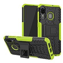 Labanema Galaxy A30 / A50 / A20 Funda, [Heavy Duty] [Doble Capa] [Protección Pesada] Híbrida Resistente Case Protectora y Robusta para Samsung Galaxy A30 / A50 / A20 2019 - Verde