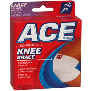 ACE KNEE SUPPORTER 7305 LG 1 per pack by 3M