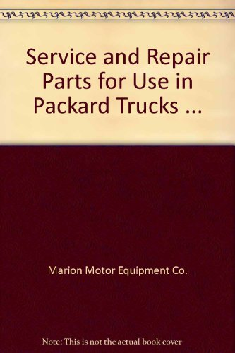 Used, Service and Repair Parts for Use in Packard Trucks for sale  Delivered anywhere in USA