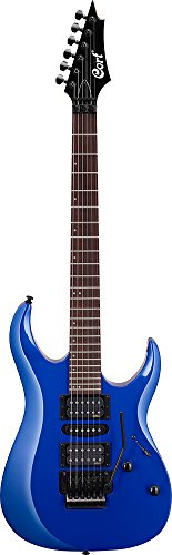 Cort 6 String Solid-Body Electric Guitar, Right Handed, Kona Blue (X250 KB)