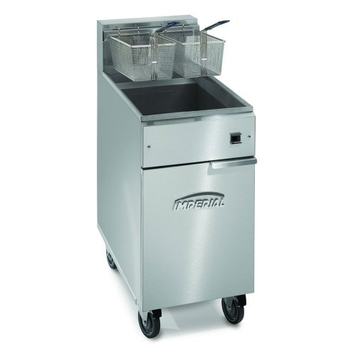 Imperial Commercial Fryer Electric-Tube Fired Stainless Steel Fry Pot Electric Model Ifs-40-E (Deep Fryer Non Electric)