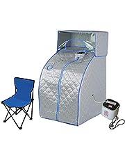 Portable Steam Sauna Tent w/Head Cover