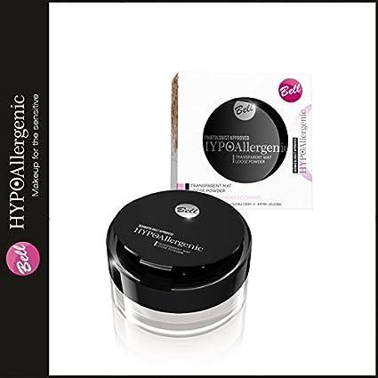 Bell hipoalergénico cara polvo transparente para polvos de maquillaje