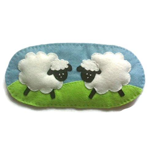 Cute Felt Sheep Sleep Mask