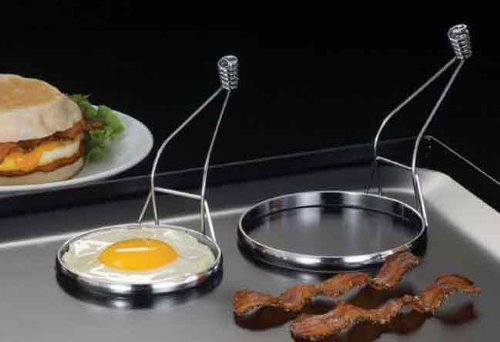 "American Metalcraft (ER333) 3.125"" Chrome-Plated Egg Ring"