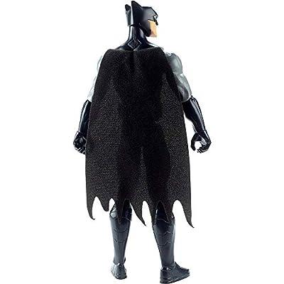 Justice League Figure 12 INCH- Batman(Black): Toys & Games