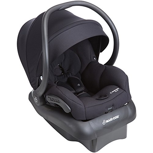 Maxi-Cosi Mico 30 Infant Car Seat With Base, Night Black, One Size (Best Infant Car Seat For Small Cars)