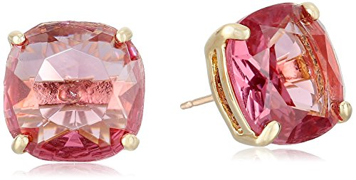 kate spade new york Small Square Pink Stud Earrings
