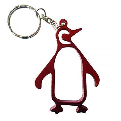 Abrebotellas Pingüino llavero llavero por pk verde rosso