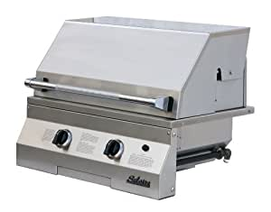 Solaire 27-Inch Basic Infrared Natural Gas Built-In Grill, Stainless Steel