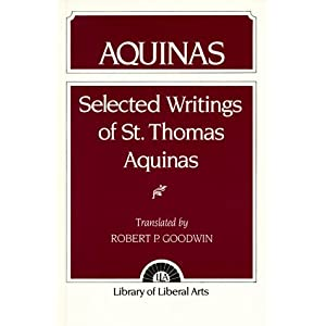 Aquinas: Selected Writings