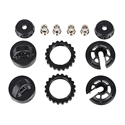 Traxxas 7468 Caps & Spring Retainers for GTR Long/XX-Long Shock Set: Toys & Games