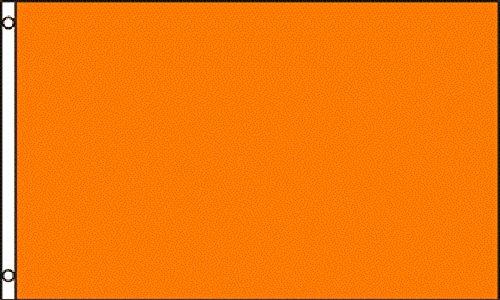 Solid Plain Orange 2x3 2'x3' Polyester Advertising Flag