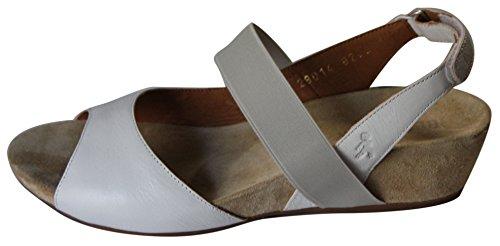 Con Elastica Zeppa Fascia Benvado Sandalo 3cm Bianco Natasha qwttBUO
