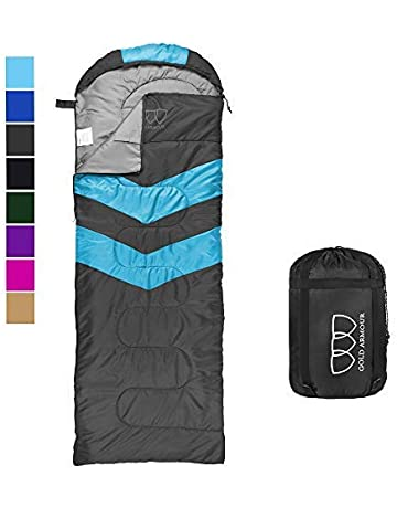 943bc1687ec8 Gold Armour Sleeping Bag – Sleeping Bag for Indoor   Outdoor Use - Great  for Kids